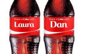 Coca-Cola-personalised-bottles