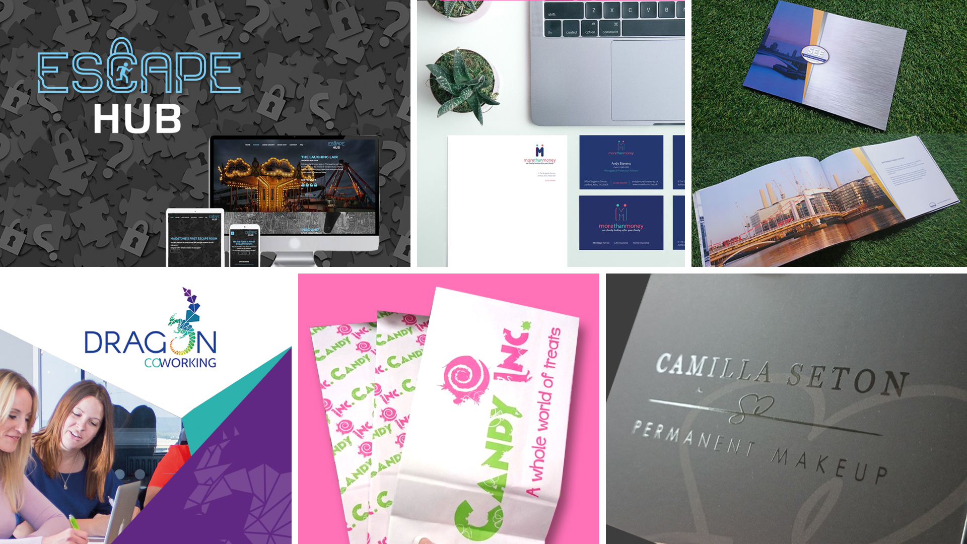 brand webpage
